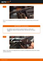 Como mudar e ajustar Escovas do limpa parabrisas VW PASSAT: tutorial pdf