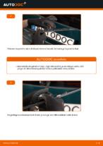 Kuidas vahetada tagumisi klaasipuhasteid autol VOLKSWAGEN PASSAT B5 (3BG, 3B6)