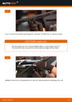Hoe de voorste wisserbladen van eenVOLKSWAGEN PASSAT B5 (3BG, 3B6) vervangen