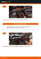 Hvordan man udskifter viskerblade i for på VOLKSWAGEN PASSAT B5 (3BG, 3B6)