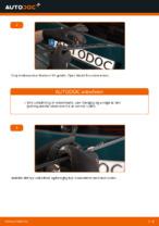 Hvordan man udskifter viskerblade i bag på VOLKSWAGEN PASSAT B5 (3BG, 3B6)