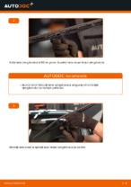 Cum se înlocuiesc lamele ștergătoarelor de parbriz din față ale automobilului VOLKSWAGEN PASSAT B5 (3BG, 3B6)
