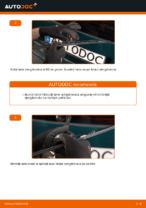 Cum se înlocuiesc lamele ștergătoarelor de parbriz din spate ale automobilului VOLKSWAGEN PASSAT B5 (3BG, 3B6)
