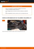 Remblokken vervangen VW PASSAT: werkplaatshandboek