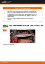 Οι συστάσεις του μηχανικού αυτοκινήτου για την αντικατάσταση VW Passat 3B6 1.8 T 20V Βάση Αμορτισέρ