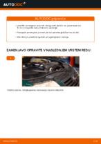 Kako zamenjati zadnje zavorne ploščice za kolutne zavore na VOLKSWAGEN PASSAT B5 (3BG, 3B6)