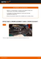 Changer Jeu de plaquettes de frein arrière et avant VW à domicile - manuel pdf en ligne