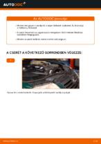 Mikor cseréljünk Fékbetét készlet VW PASSAT Variant (3B6): pdf kézikönyv
