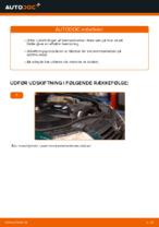 Hvordan man udskifter bremseklodser til skivebremser i for på VOLKSWAGEN PASSAT B5 (3BG, 3B6)