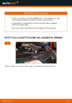 Cambio Kit pastiglie freno posteriore e anteriore VW da soli - manuale online pdf