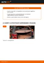 VW PASSAT Variant (3B6) Gumiharang Készlet Kormányzás cseréje: kézikönyv pdf