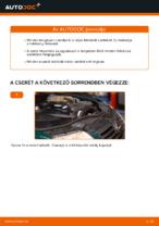 Hogyan cseréje és állítsuk be hátsó és első Fékbetét készlet: ingyenes pdf útmutató