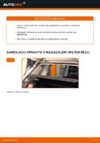 Avtomehanična priporočil za zamenjavo VW Polo 9n 1.2 12V Koncnik