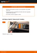 Automechanikų rekomendacijos VW Polo 9n 1.2 12V Stabdžių apkaba keitimui