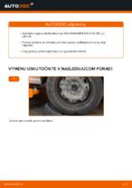 Výmena zadné a predné Vzpera stabilizátora VW POLO: online návod