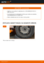 Mudar Barra escora barra estabilizadora traseiro e dianteiro VW faça você mesmo - manual online pdf