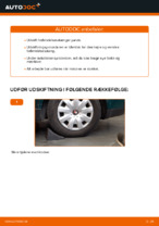 PDF Guide til reparation af autodele: VW up! Hatchback (121, 122, BL1, BL2)