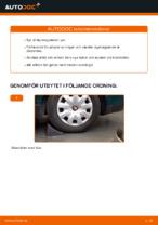 Gratis instruktioner online hur installerar man Styrekugle VW PASSAT Variant (3B6)