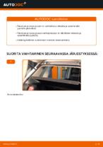 VW POLO Takaluukun kaasuiskunvaimennin vaihto : käsikirja verkossa