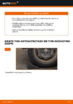 Οι συστάσεις του μηχανικού αυτοκινήτου για την αντικατάσταση VW Polo 9n 1.2 12V Ιμάντας poly-V