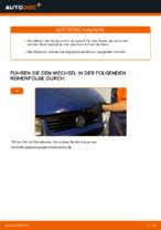 Schritt-für-Schritt-PDF-Tutorial zum Wasserpumpe + Zahnriemensatz-Austausch beim VW TRANSPORTER IV Bus (70XB, 70XC, 7DB, 7DW)