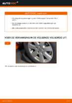 Zelf Stabilisatorkoppelstang achter en vóór vervangen VW - online handleidingen pdf