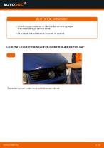 Sådan udskifter du forbremsekaliber på Volkswagen Transporter T4