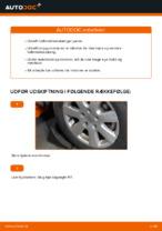 Hvordan man udskifter enderne på sporingsstangen på Volkswagen Transporter T4