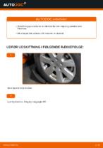 Skifte Bærearm VW TRANSPORTER: værkstedshåndbog