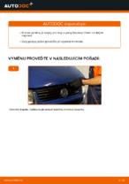 Jak vyměnit přední brzdový třmen na Volkswagen Transporter T4