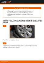 Αλλαγη Ψαλίδια αυτοκινήτου: pdf οδηγίες για VW TRANSPORTER