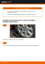 Montage Lenker Radaufhängung VW TRANSPORTER IV Bus (70XB, 70XC, 7DB, 7DW) - Schritt für Schritt Anleitung
