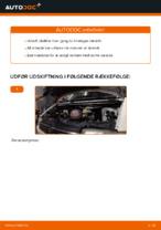 Sådan udskifter du motorolie og oliefilter på VOLKSWAGEN TRANSPORTER T4 (70XB, 70XC, 7DB, 7DW)