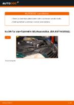 Vaihda VW Tukivarsi itse - käsikirja verkossa