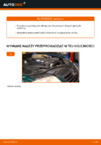 Jak wymienić górne ramię w przednim niezależnym zawieszeniu w VOLKSWAGEN PASSAT B5 (3BG, 3B6)