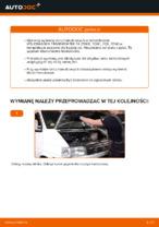Jak wymienić i wyregulować Tarcze hamulcowe VW TRANSPORTER: poradnik pdf