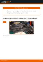 Ako vymeniť vrchné rameno predného nezávislého zavesenia kolies na VOLKSWAGEN PASSAT B5 (3BG, 3B6)