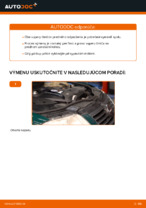 Ako vymeniť vzperu predného tlmiča na aute VOLKSWAGEN PASSAT B5 (3BG, 3B6)