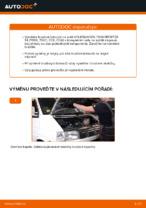 Jak vyměnit přední brzdové kotouče na VOLKSWAGEN TRANSPORTER T4 (70XB, 70XC, 7DB, 7DW)