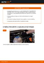 Jak vyměnit zadní brzdové kotouče na VOLKSWAGEN TRANSPORTER T4 (70XB, 70XC, 7DB, 7DW)