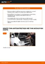 Οι συστάσεις του μηχανικού αυτοκινήτου για την αντικατάσταση VW VW TRANSPORTER IV Bus (70XB, 70XC, 7DB, 7DW) 2.4 D Βάσεις στήριξης κινητήρα