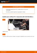 Avtomehanična priporočil za zamenjavo VW VW TRANSPORTER IV Bus (70XB, 70XC, 7DB, 7DW) 2.4 D Konec jarmovega droga