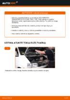 PDF keitimo instrukcija: Stabdžių diskas VW Transporter IV Bus (70B, 70C, 7DB, 7DK, 70J, 70K, 7DC, 7DJ) gale ir priekyje