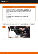 VW TRANSPORTER stapsgewijze handleidingen over onderhoud