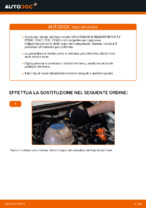 Come sostituire i dischi dei freni posteriori su una VOLKSWAGEN TRANSPORTER T4 (70XB, 70XC, 7DB, 7DW)