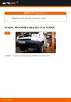 Jak vyměnit zadní upevnění motoru na autě VOLKSWAGEN TRANSPORTER T4 (70XB, 70XC, 7DB, 7DW)