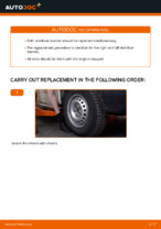 Auto mechanic's recommendations on replacing VW VW TRANSPORTER IV Bus (70XB, 70XC, 7DB, 7DW) 2.4 D Brake Discs