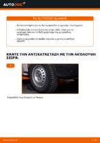 Αλλαγή Αμορτισέρ VW TRANSPORTER: δωρεάν pdf