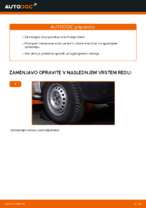 Priročnik za delavnico za VW TRANSPORTER IV Bus (70XB, 70XC, 7DB, 7DW)