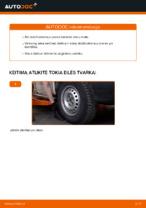 VW Transporter T4 Bortinis Sunkvežimis remonto ir priežiūros instrukcija